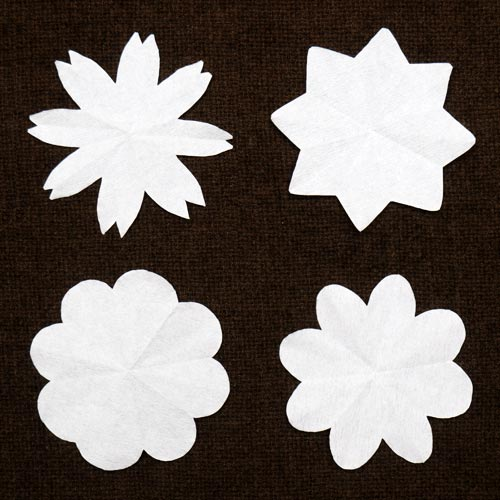 Step 5 Coffee Filter Flowers