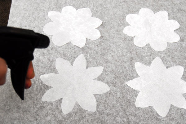 Step 6c Coffee Filter Flowers