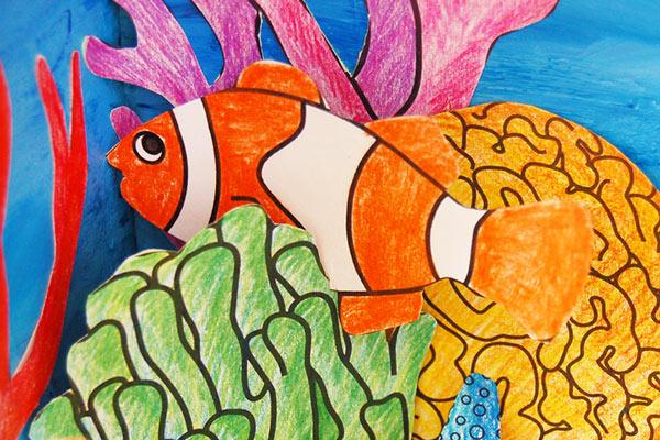 Coral Reef Habitat Diorama | Kids' Crafts | Fun Craft Ideas
