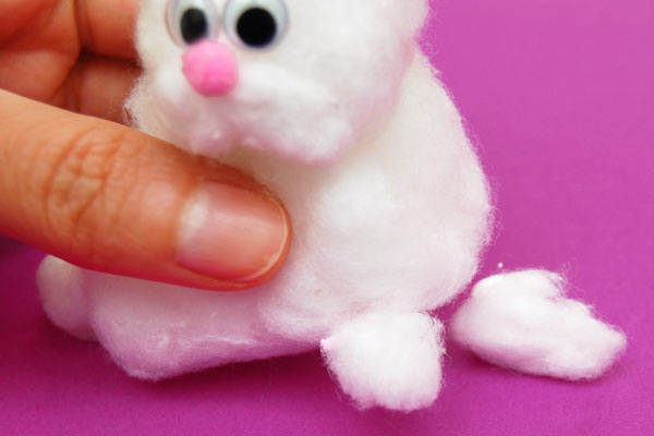 STEP 11 Cotton Bunny
