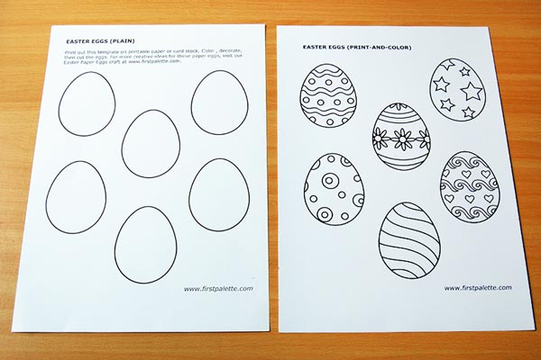 STEP 1 Creative Paper Eggs
