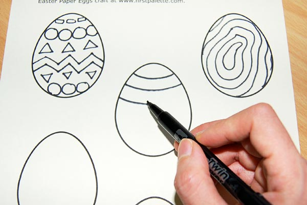 STEP 2 Creative Paper Eggs