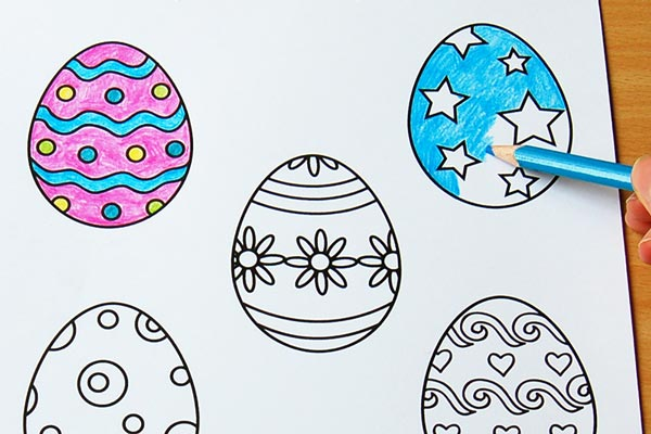 STEP 3 Creative Paper Eggs
