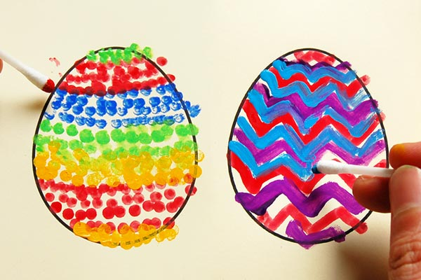 STEP 4a Creative Paper Eggs