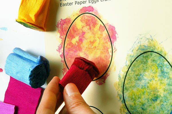 STEP 4c Creative Paper Eggs