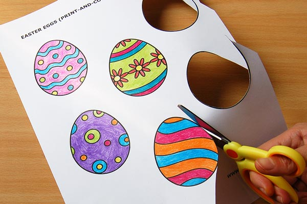 STEP 5 Creative Paper Eggs