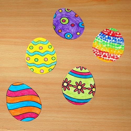 STEP 6 Creative Paper Eggs