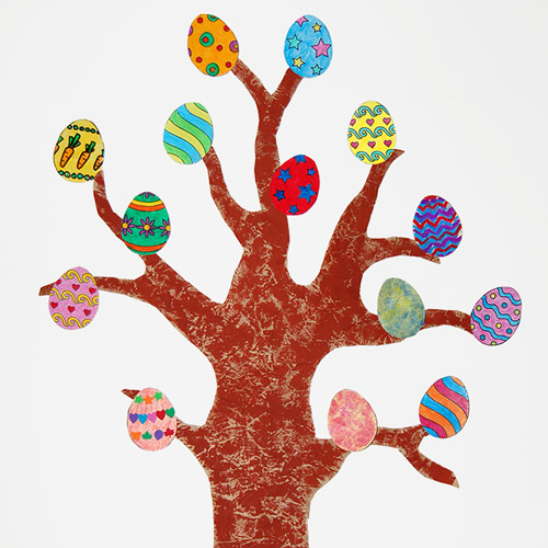 MORE IDEAS - Create an Easter tree.