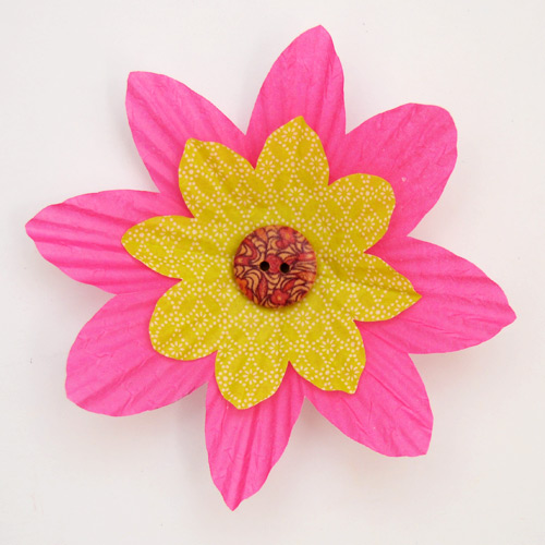 MORE IDEAS - Create a layered flower.