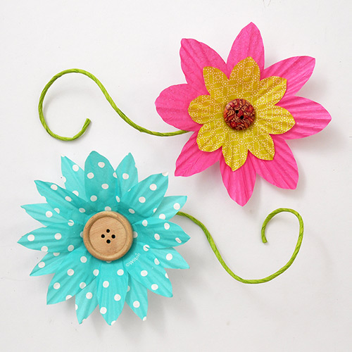 MORE IDEAS - Customize the flower's shape.
