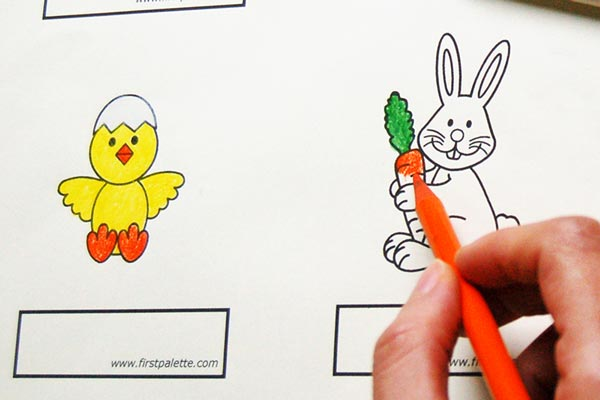 STEP 2 Easter Finger Puppets