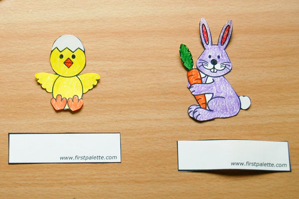 STEP 3 Easter Finger Puppets