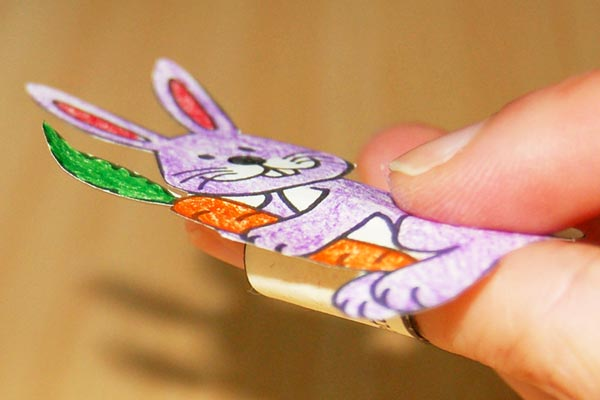 STEP 8 Easter Finger Puppets