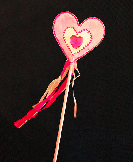 MORE IDEAS - Create a wand to match the occasion.