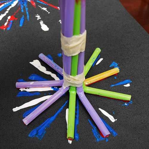 MORE IDEAS - Use drinking straws.
