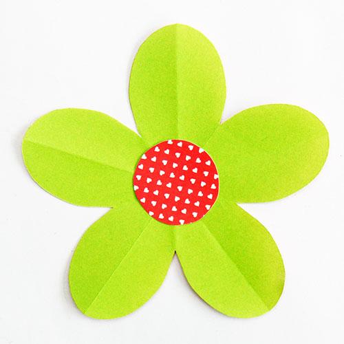 Folding Paper Flowers 5 Petals Kids Crafts Fun Craft Ideas Firstpalette Com