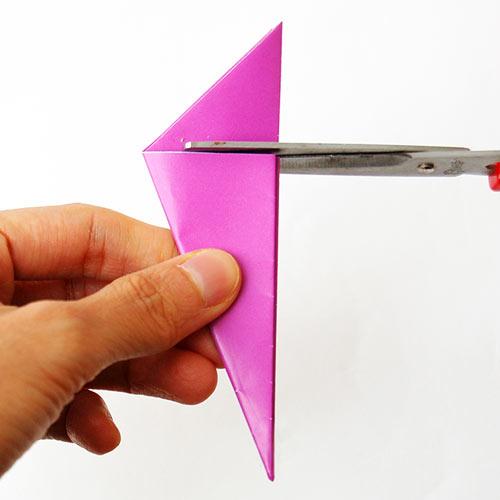Folding Paper Flowers 8 Petals Kids Crafts Fun Craft Ideas Firstpalette Com