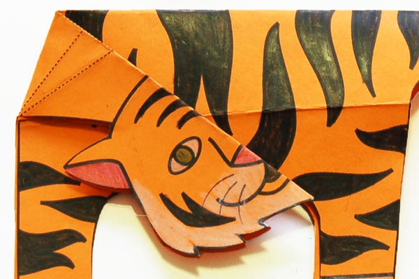 Step 10 Folding Paper Zoo Animals