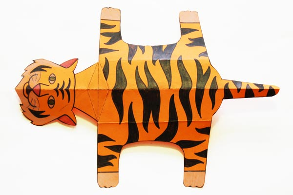 Step 12 Folding Paper Zoo Animals