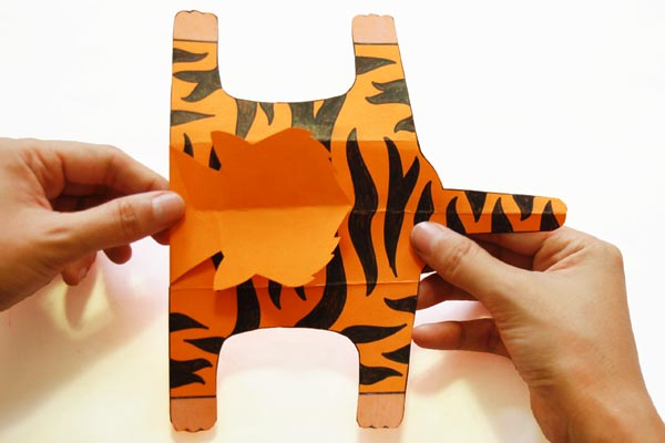 Step 13 Folding Paper Zoo Animals
