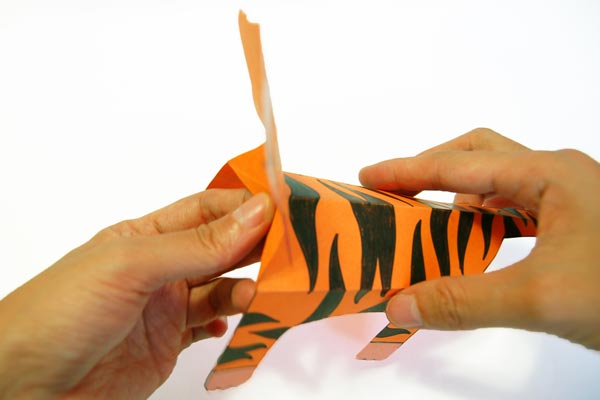 Step 14 Folding Paper Zoo Animals