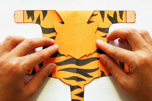 Step 5 Folding Paper Zoo Animals