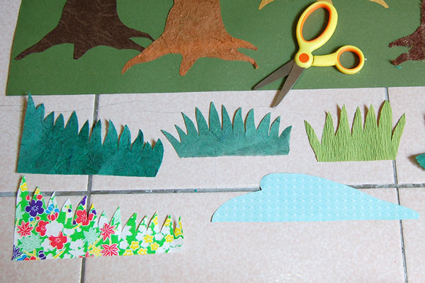 STEP 5a Forest Collage