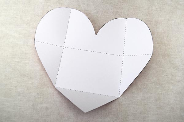 Step 2b Heart Card and Envelope
