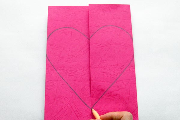 Step 4 Heart Greeting Card