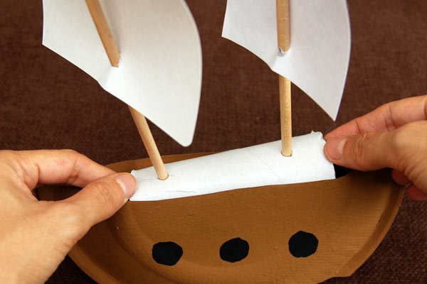 Step 11 Mayflower or Pirate Ship