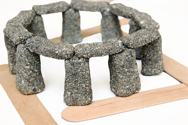 STEP 12 Miniature Stonehenge