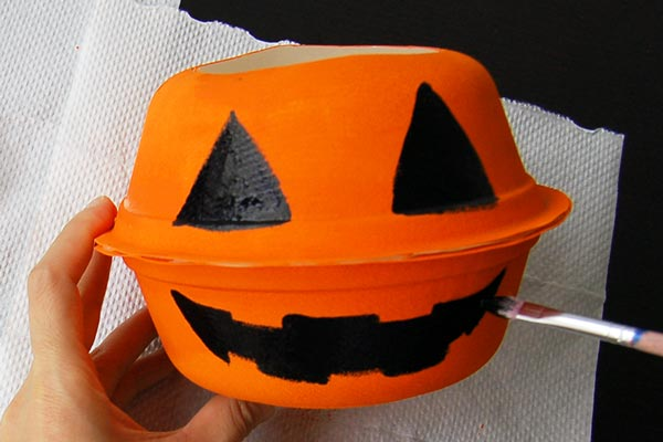 STEP 6 Mini Pumpkin Basket
