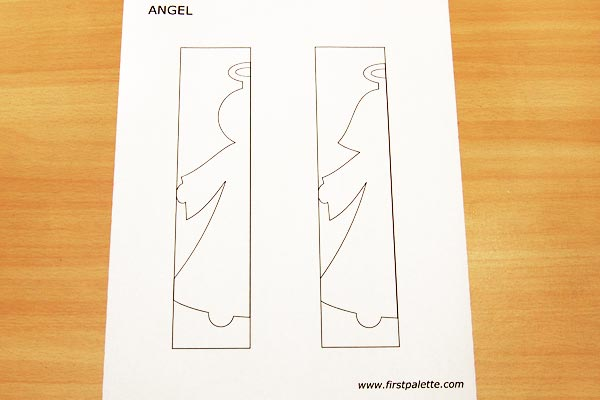 Step 1 Paper Angel Chain