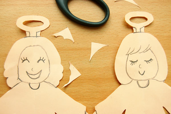 Step 11 Paper Angel Chain