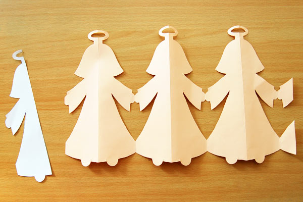 Step 8 Paper Angel Chain