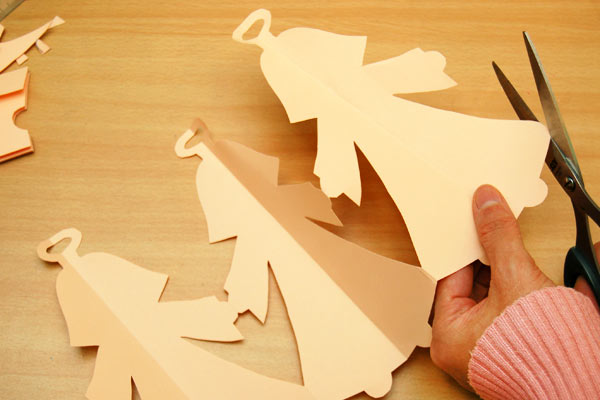 Step 9 Paper Angel Chain