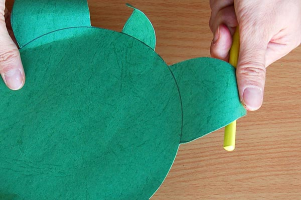 STEP 8 Paper Bowl Turtle