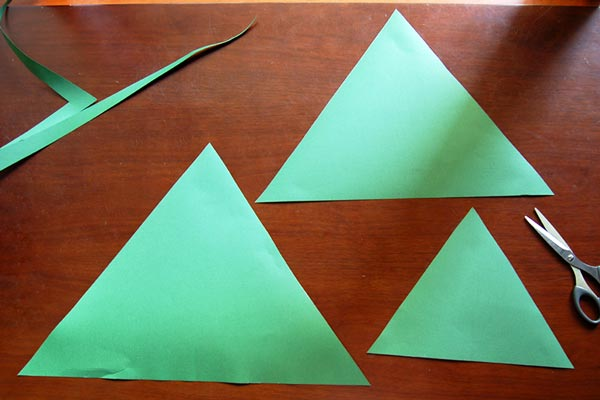 STEP 1 Paper Christmas Tree