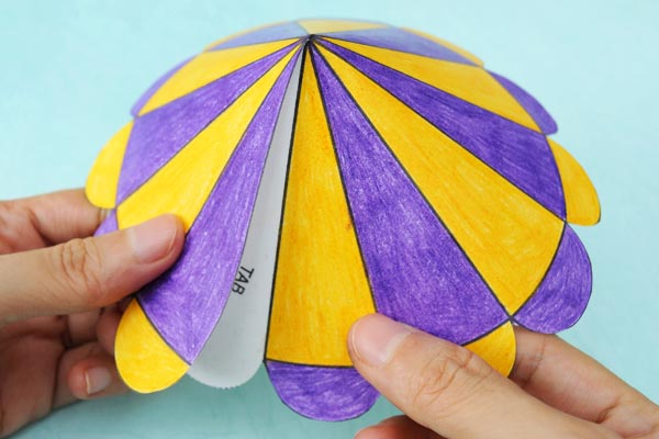 Paper Circus Tent Kids Crafts Fun Craft Ideas