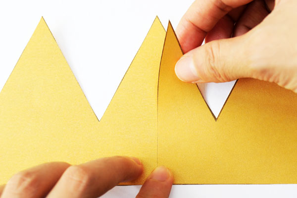 How to make an eight-pointed origami crown: page 1 | 400x600