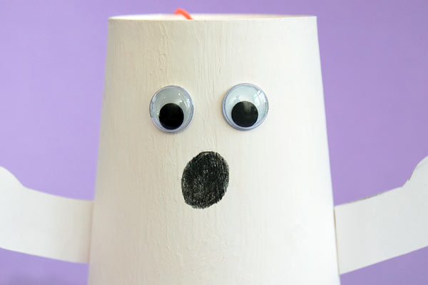 STEP 10 Paper Cup Ghost