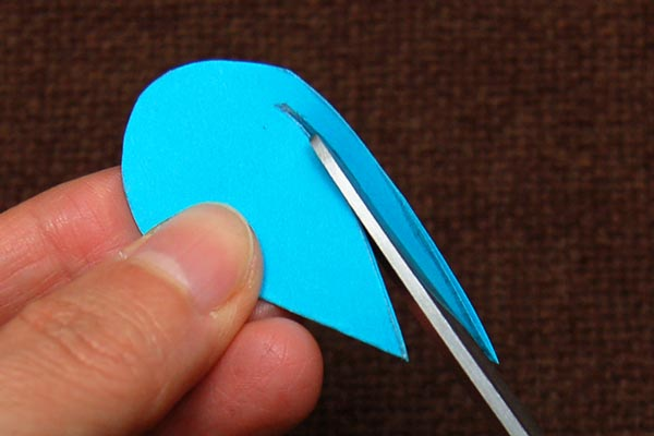 Step 10 Paper Heart Bookmark