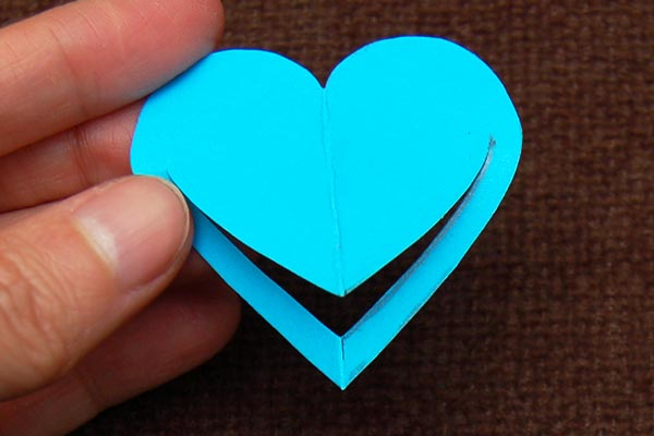 Step 11 Paper Heart Bookmark