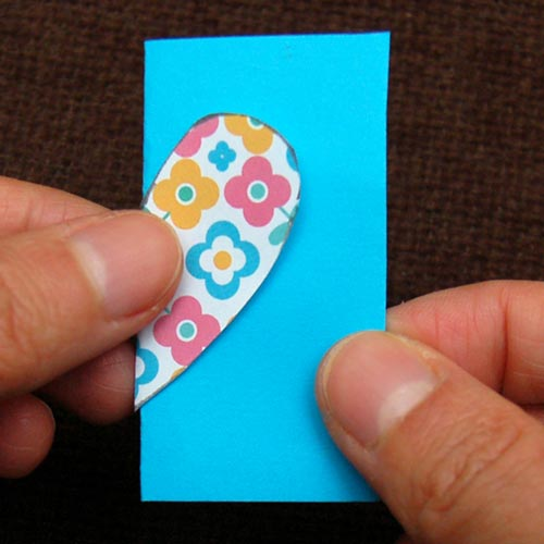 Step 7 Paper Heart Bookmark