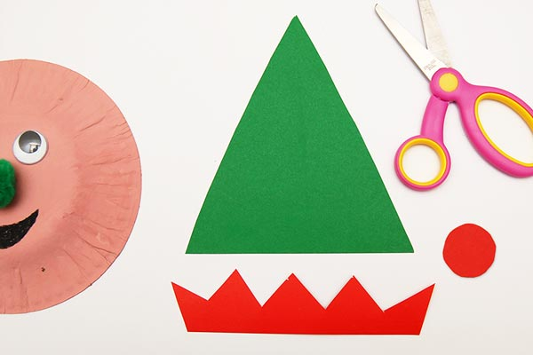 STEP 6 Paper Plate Christmas Elves