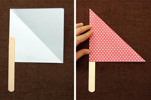 Step 7 Paper Plate Sailboat