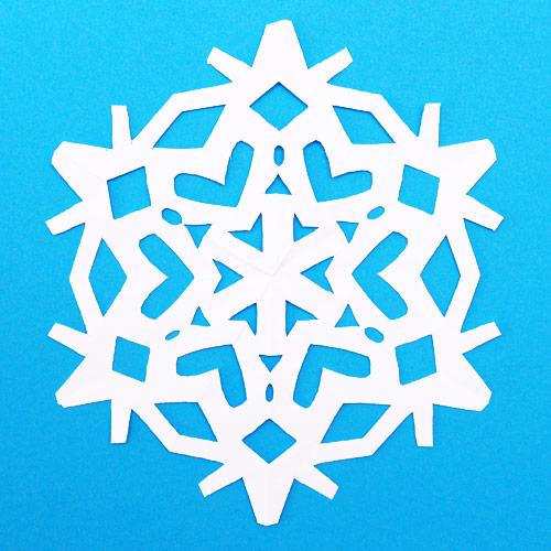 STEP 10 Paper Snowflake