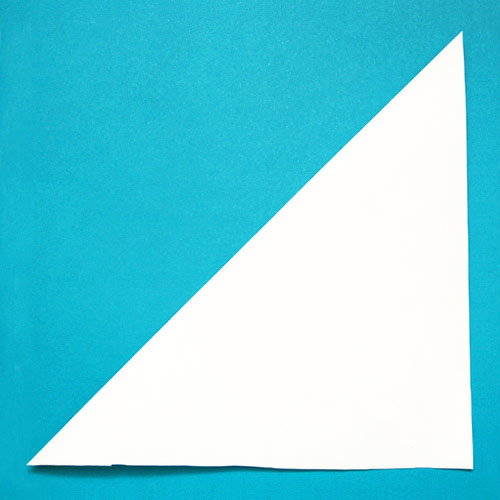 STEP 2 Paper Snowflake