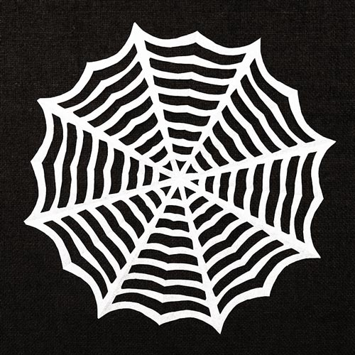 STEP 10 Paper Spider Web