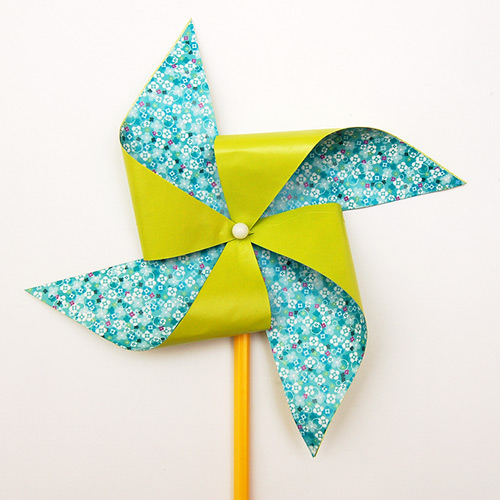 MORE IDEAS - Use origami paper.
